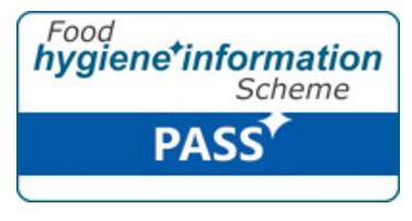 Food hygiene pass logo